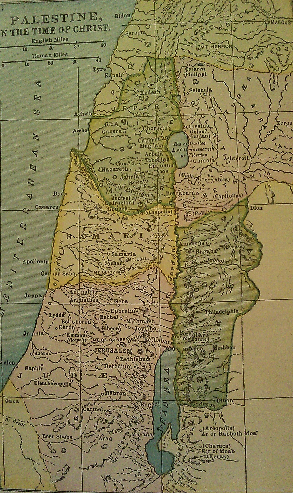 Palestine – In Christ#39;s Time