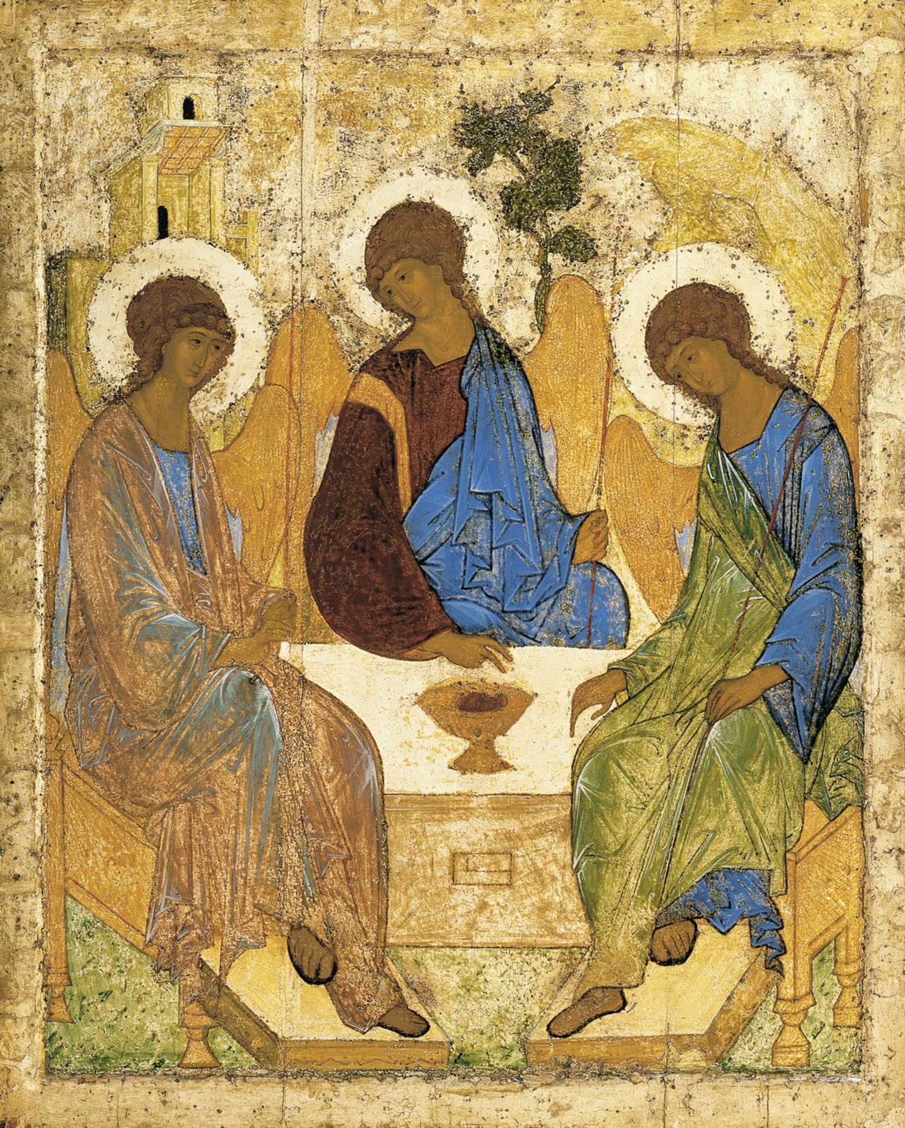 rublev-angels-at-mamre-trinity1 « Christ Conquers