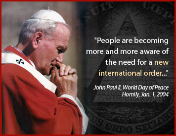Pope - New World Order