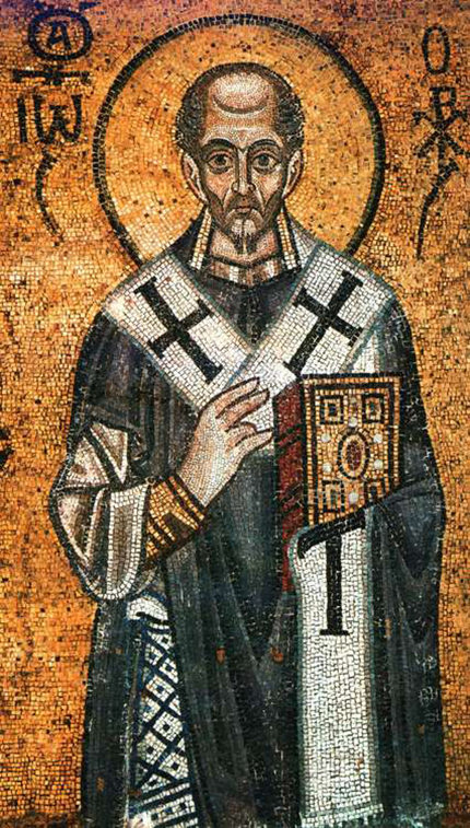 St. John Chrysostom, the Golden Mouthed